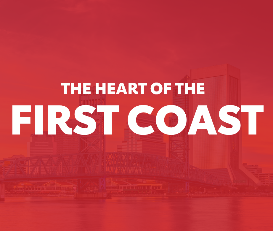 The Heart of the First Coast Skyline Graphic